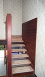 climbing wall wall selected, stairs